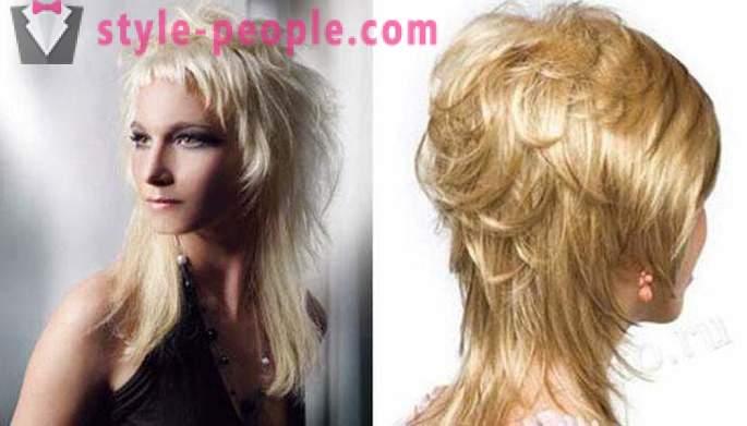 Aurora Haircut Fotografie Tunsoare Aurora Pe Păr Mediu
