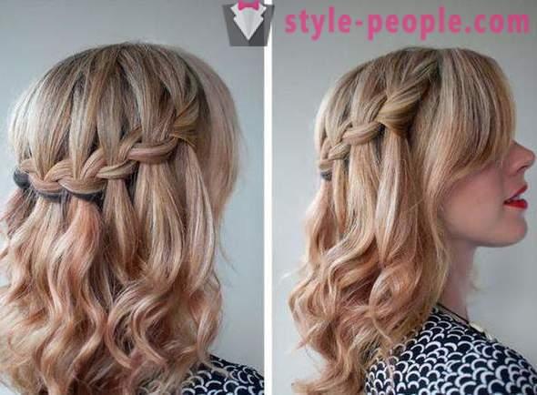 Hairstyle Cascadă Franceză Instrucțiuni Pas Cu Pas