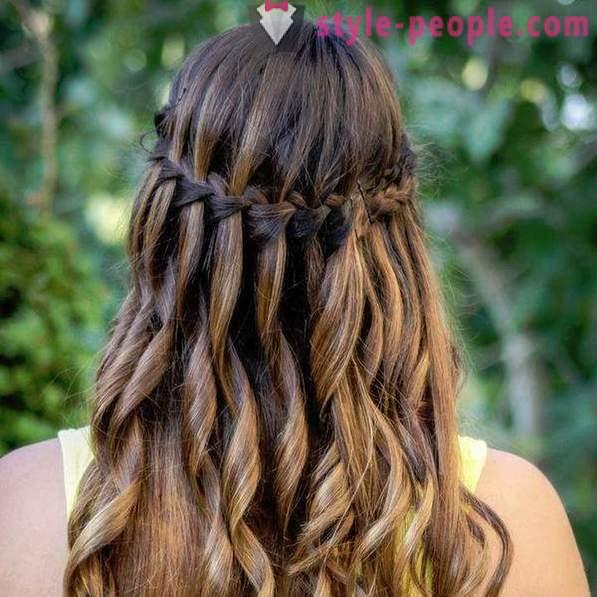 Cascada Hairstyle Cum Să Creați și Recomandări